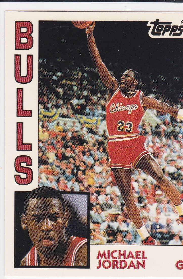 Michael Jordan Rookie Card Topps Rc Bulls Basketball