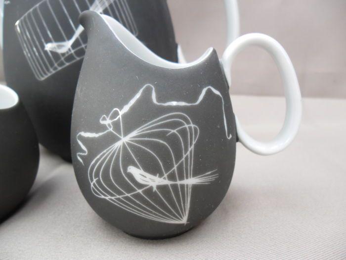 Thomas ( Rosenthal ) decor Papageno , Raymond Loewy Design , theeservies - Catawiki