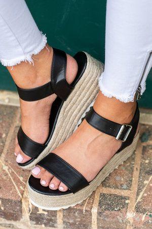 8cae0de43 Dance Party Platform Sandals, Black | SHOES in 2019 | Shoes, Black ...