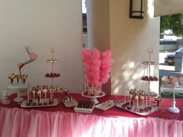 mesa de postres para baby shower tables showers postres para for