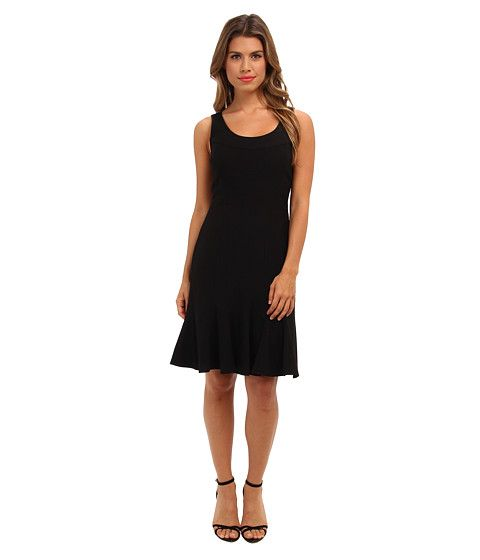 Calvin Klein Calvin Klein  Lux Dress with Trumpet Skirt CD4X16Z7 (Black) Womens Dress for 51.20 at Im in!
