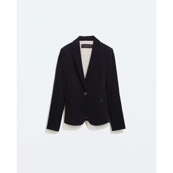Zara Blazer With Elbow Patches (195 BRL) ❤ liked on Polyvore featuring outerwear, jackets, blazers, zara, navy blue, navy blue blazer, elbow patch blazer, navy blue jacket, navy blue blazers and elbow patch jacket