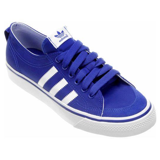Tênis Adidas Nizza Low - Cinza+Branco