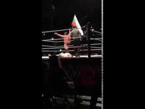 WWE Live event John Cena vs. Rusev