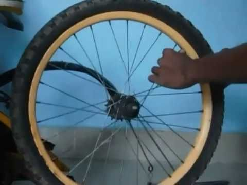 DIY |How to |replace |bicycle rear tires tube Full video