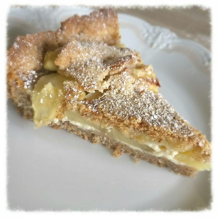 Rezept - Apfel-Nuss-Torte - Knuspriger Boden raffiniert belegt! Apfel und Nuss zusammen? Was ein Gaumenschmaus . Rezept gibt es hier..