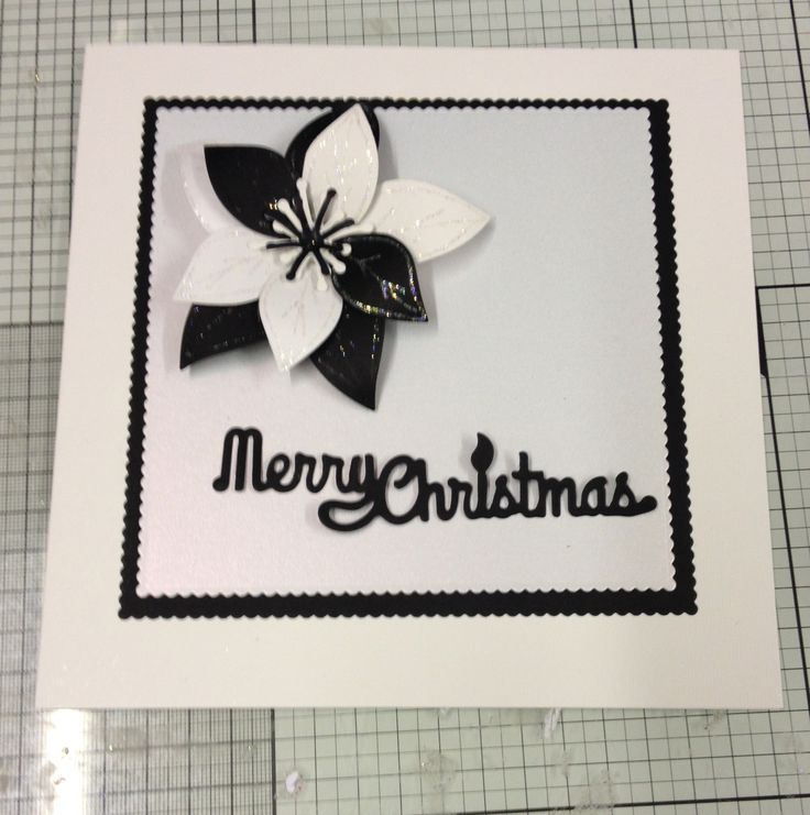 Another 7x7 card in black & white