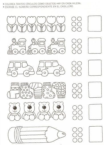 123 Manía: actividades de matemática para imprimir, resolver y colorear – Betiana 1 – Webová alba Picasa