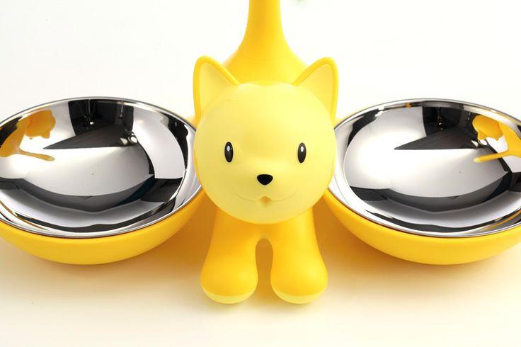 Tigrito: ciotole per gatti e tigri domestiche. Solo per animali di classe! Di Miriam Mirri / Tigrito: bowl for cats-pets and tigers-pets! So smart! By Miriam Mirri @ Akille