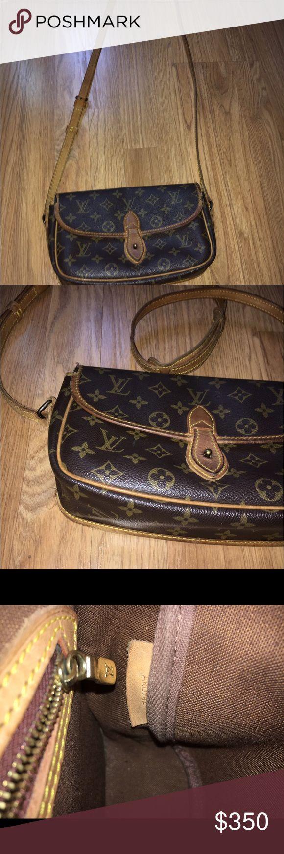 Louis Vuitton Vintage Louis Vuitton Crossbody. Gibeciere Pm 4415 Authentic Louis Vuitton Bags Crossbody Bags