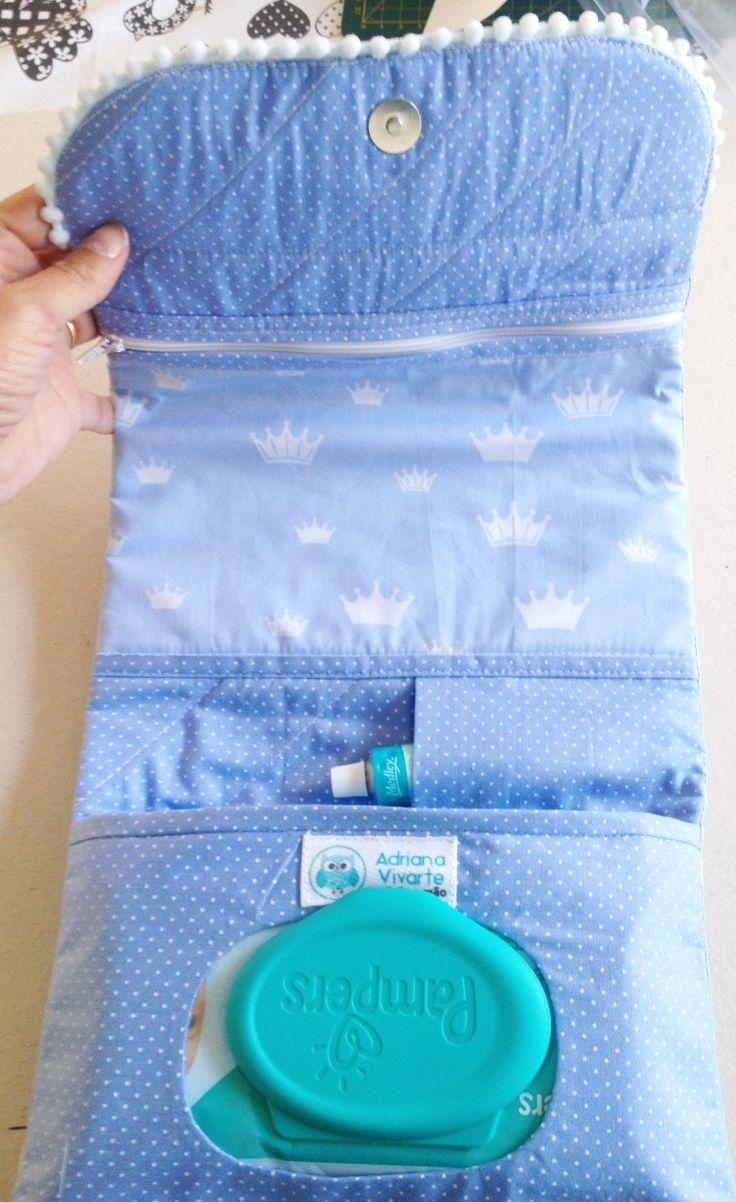 Kit higiene do bebê. http://www.vivartesanato.com.br/2016/08/kit-higiene-do-bebe-para-menino.html