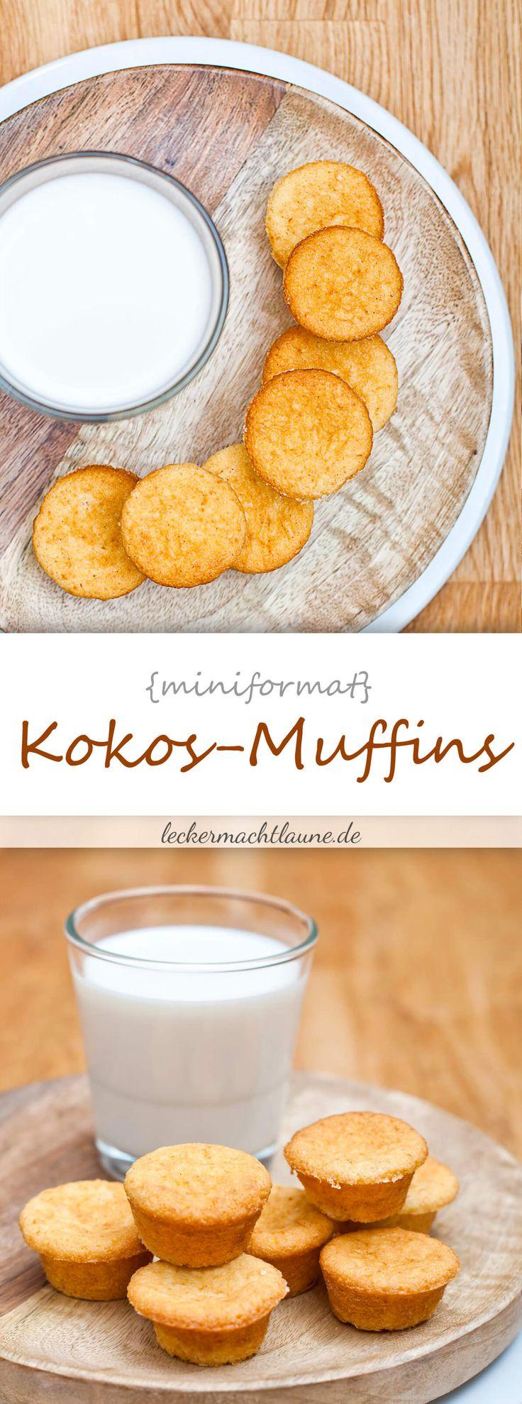 Mini-Kokos-Muffins {frisch aus dem ofen}