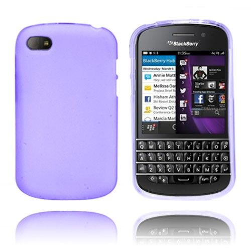 Frosted (Lilla) Blackberry Q10 Cover