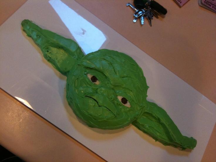 Kits Cucina Culinaria: Yoda Cake