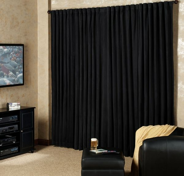 die besten 17 ideen zu blickdichte vorh nge auf pinterest. Black Bedroom Furniture Sets. Home Design Ideas