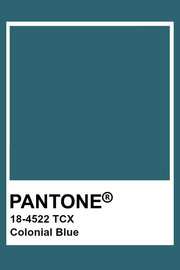 Pantone Colonial Blue Pantone Colour Palettes Pantone Color Pantone Color Chart