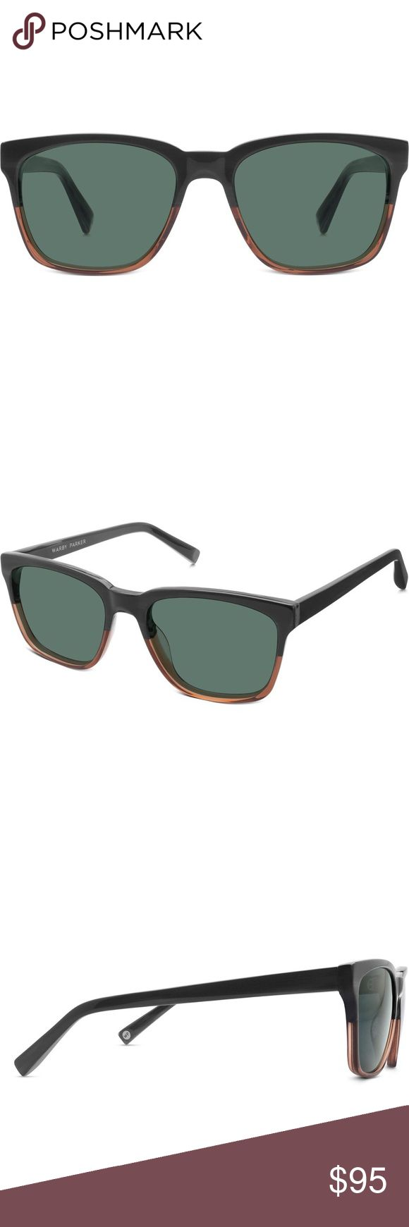 Warby Parker Barkley Sunglasses The Barkley frame manages to look at once midcentury and contemporary and totally stylish on everyone. Sizing: 53-18-142. Color: Antique Shade Fade. Warby Parker Accessories Sunglasses