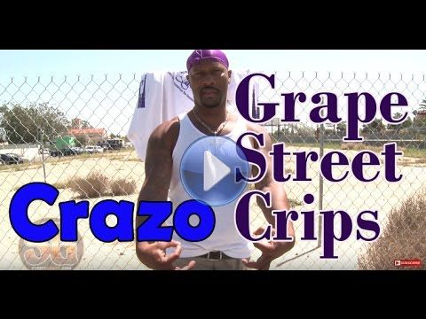 Grape Street Crip member says he is not with the peace at a peace celebr...