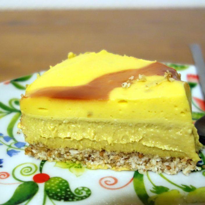 Cheesecake mango coco