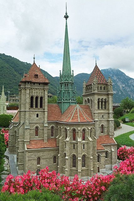 St Peter's Cathedral - Geneva, Switzerland --- Nobody talks so constantly about God as those who insist that there is no God. Heywood Broun