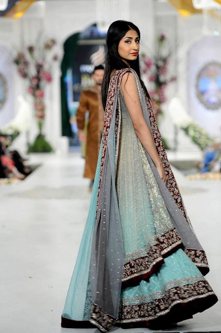 144 best dresses by pakistan images on Pinterest   Bridal dresses ...