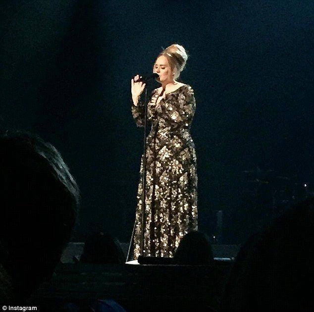 She's back! Adele had celebrities and critics alike in the palm of her hand as she returne...