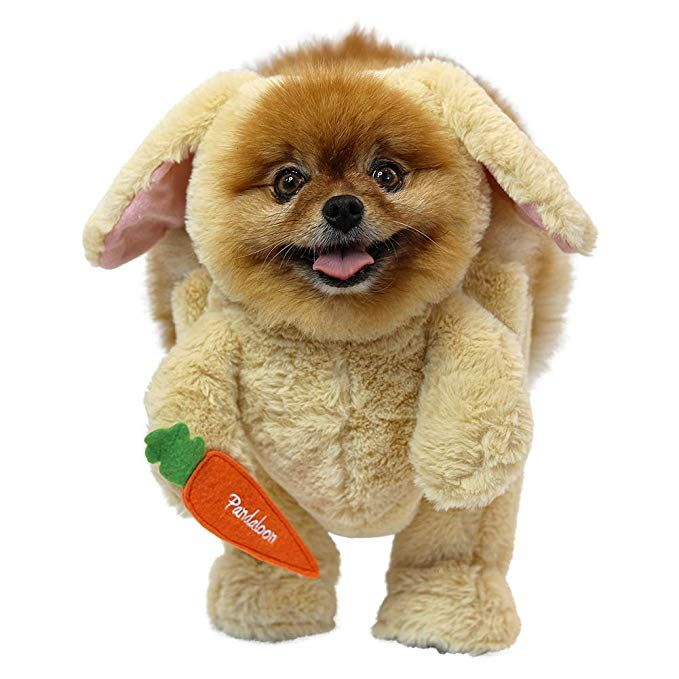 As Seen On Shark Tank Pandaloon Rabbit Dog Costume Set Includes
