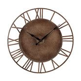 Found it at Wayfair - Metal Roman Numeral Outdoor Wall Clock