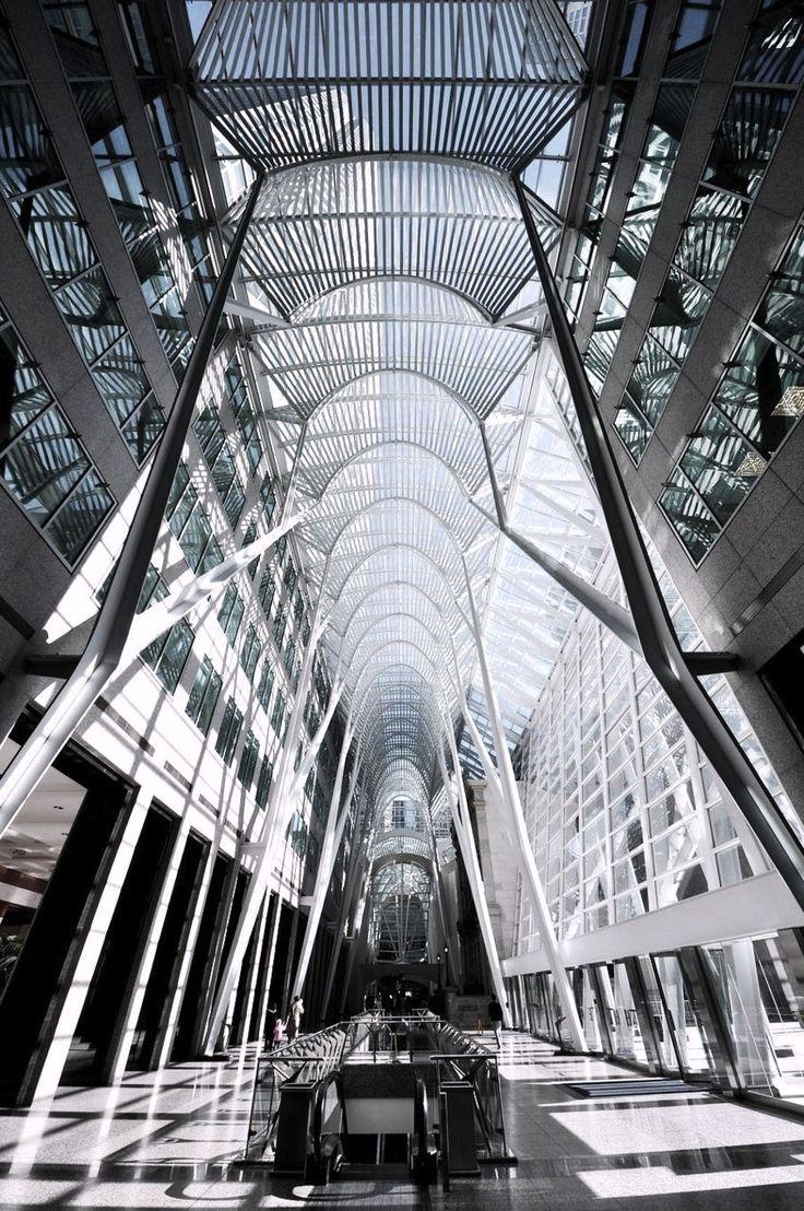 Allen Lambert Galleria in Toronto by Santiago Calatrava