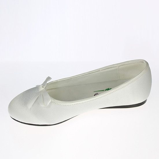 new first communion shoes 2015 | flat-ballet-style-first-communion-shoe-linzi-jay-ls202-communion-shoe ...