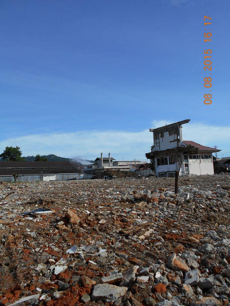 Lahan Proyek PJT M. Djamil Padang  #NK