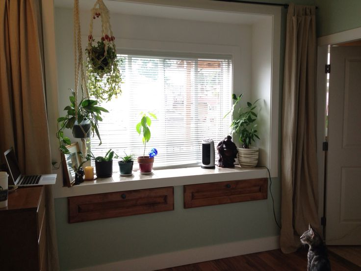 11 Best Window Seat And Plants Images On Pinterest Bay
