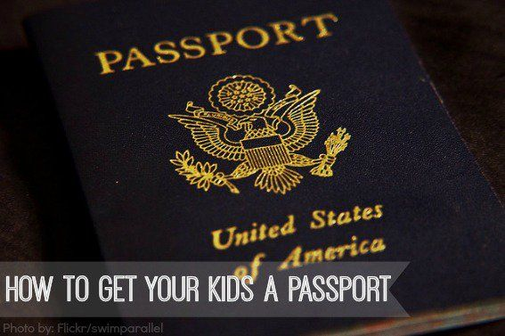 How to get your kids a passport