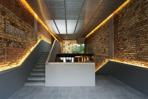 The #Pool Shophouse ~~ An amazing #brick #masonry project ~~ Location: #Singapore.