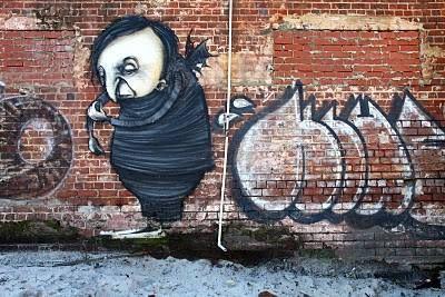 Street Art in Perth, Stormie Mills