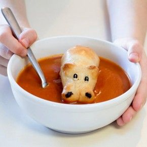 Hippo Bread Rolls Make a Perfect Soup Accompaniment #FWx