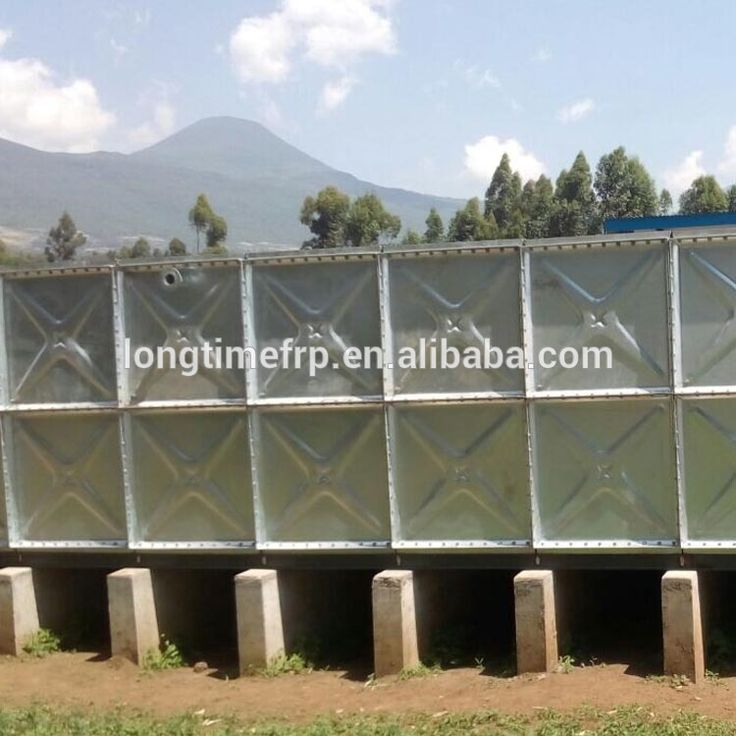 China hot Galvanized Steel Water Tank Panels Manufacturer 1*1m/1.22*1.22m