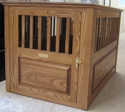 27 Best Wooden Dog Crates Images On Pinterest Dog