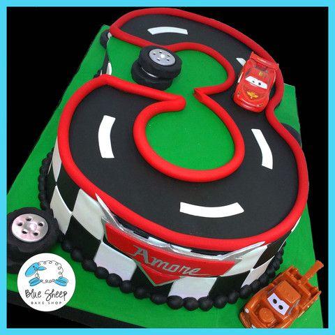 #3 cars lightning mcqueen birthday cake nj