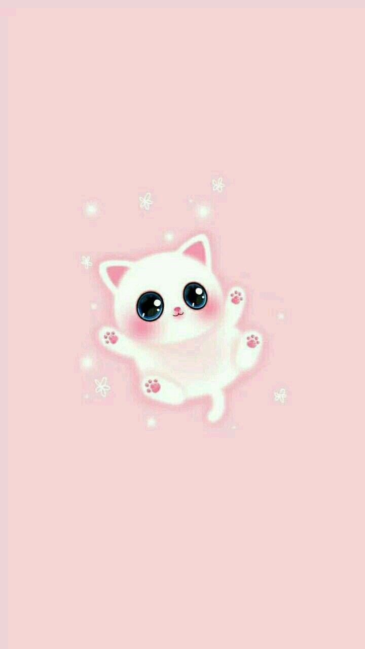 Cute Kawaii Kitty Wallpaper Kitten Wallpaper Kitty Wallpaper Cat Wallpaper