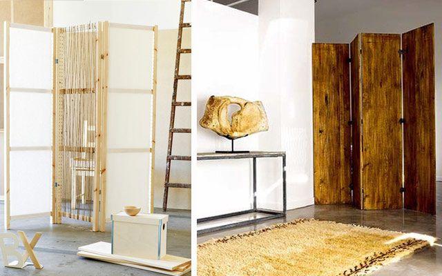Ideas para decorar con biombos modernos bellos lugares - Ideas para biombos ...