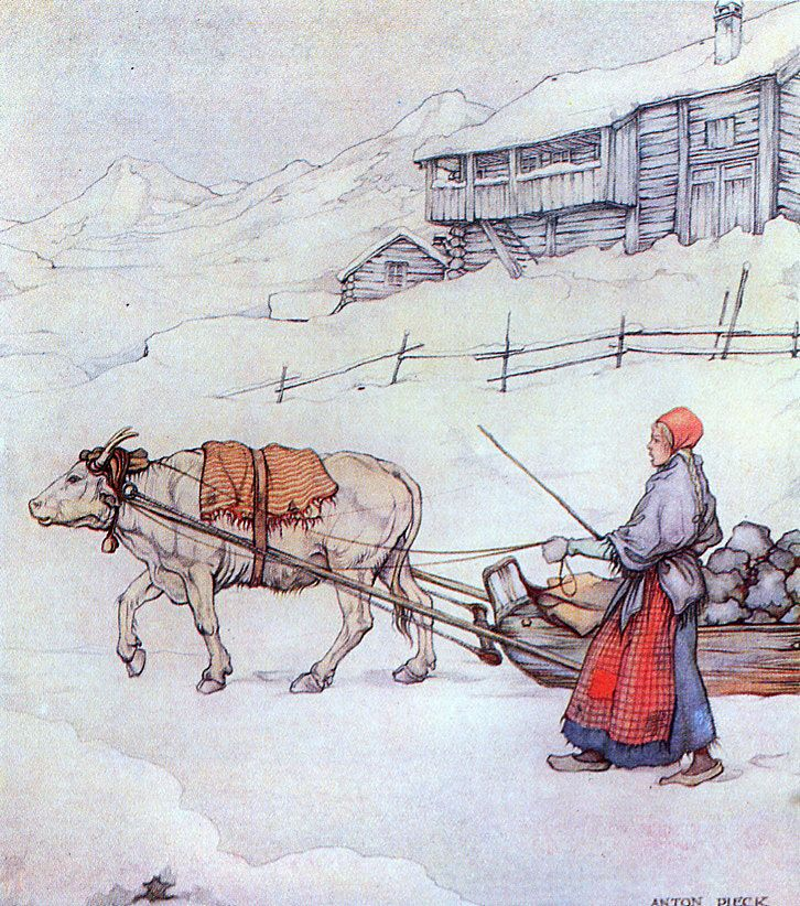 Anne Margreet by Johan Falkberget; illustrations by Anton Pieck