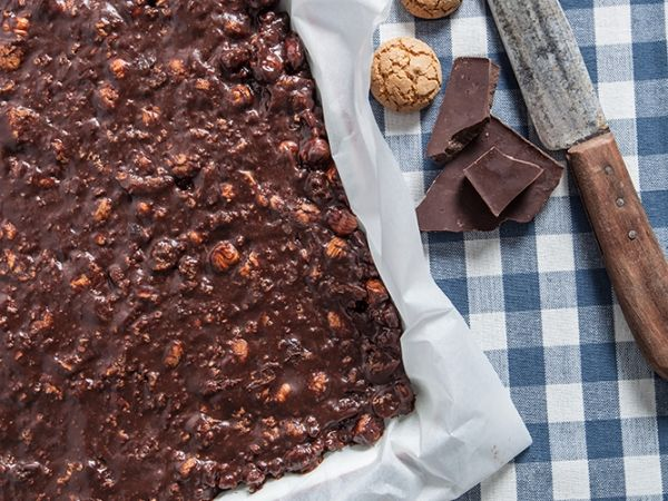 Brownie zonder bakken - Libelle Lekker!