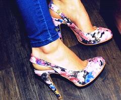 shoes shoes shoes: Floral Prints, Fashion, Floral Patterns, Style, Shoes Sho, Flowers Prints, Jeans, Floral Heels, Floral Shoes