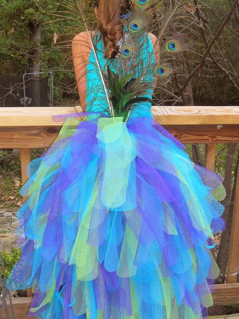 Knock it off crafts a peacock costume a voodoo doll for Peacock crafts for adults