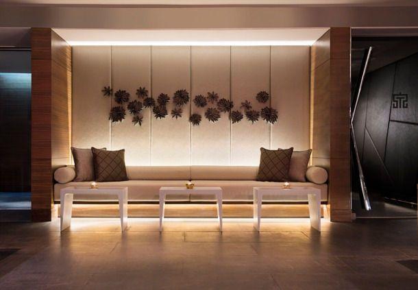 New Delhi Spa reception area More