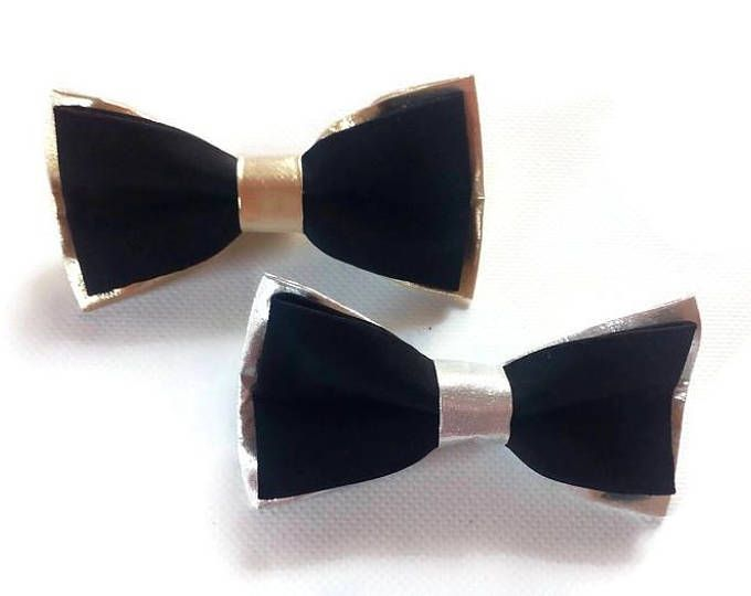 wedding bow ties/black SILVER/bow tie/black GOLD/bowtie/groomsmen/bow ties/men/gift/husband/groom/pocket square/ring bearer/outfit/weddings