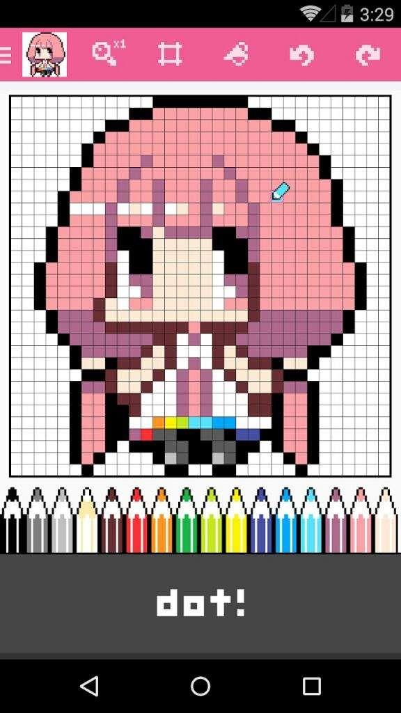 Dotpict app   Anime Amino   pixel art   App anime, Paint app