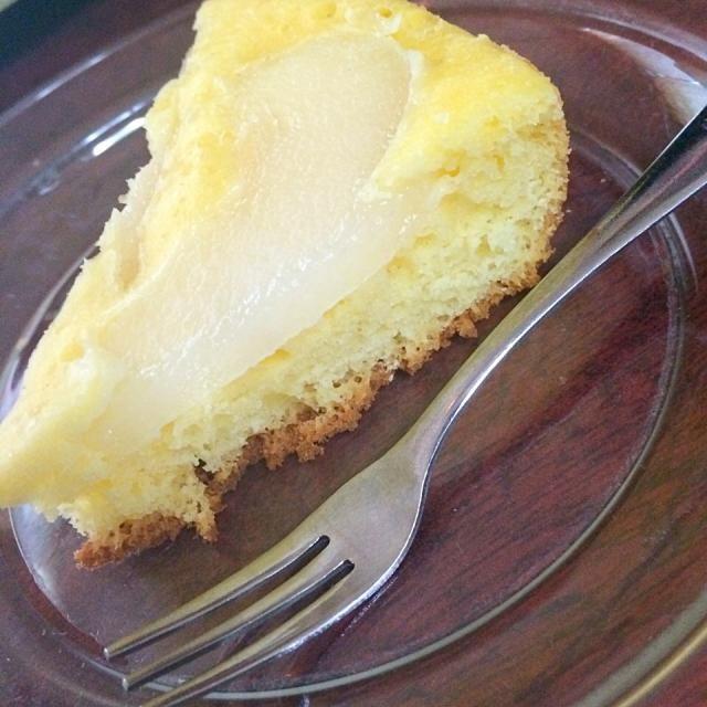 今回は大好きな梨を使って ケーキを作ってみました♡  美味しい↑ - 67件のもぐもぐ - 第三弾 梨ケーキ♡ by N.A.O.M.I.xxiv
