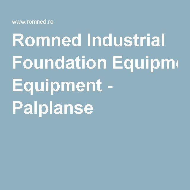 Romned Industrial Foundation Equipment - Palplanse